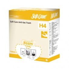 SOFTCARE FOAM ANTIBACTERIAL  CAJA DE 6 SACHETS DE 700 ML.