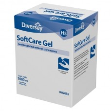 SOFTCARE ALCOHOL GEL CAJA 6 SACHETS x 1 LT