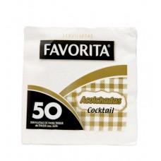 SERVILLETA FAVORITA ACOLCHADA COCK. CAJA DE 45 PAQUETES DE 50 SERV. C/U