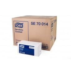 TORK UNIVERSAL SERVILLETA COCKTAIL H/S CAJA DE 24 PQTS. DE 200 SERV.